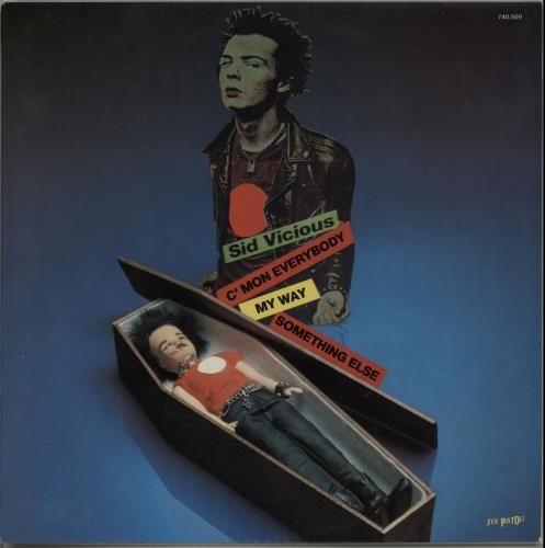 Sid Vicious My Way French 12 Quot Vinyl Single 12 Inch Record