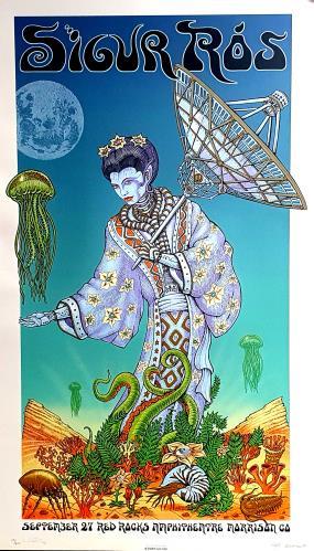 Sigur Ros September 27 Red Rocks Amphitheatre Morrison CO poster US SIUPOSE763854