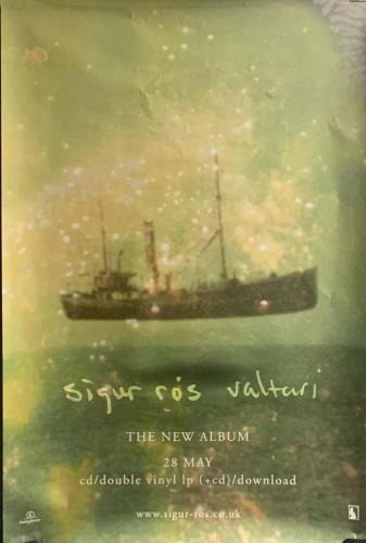 Sigur Ros Valtari poster UK SIUPOVA746111