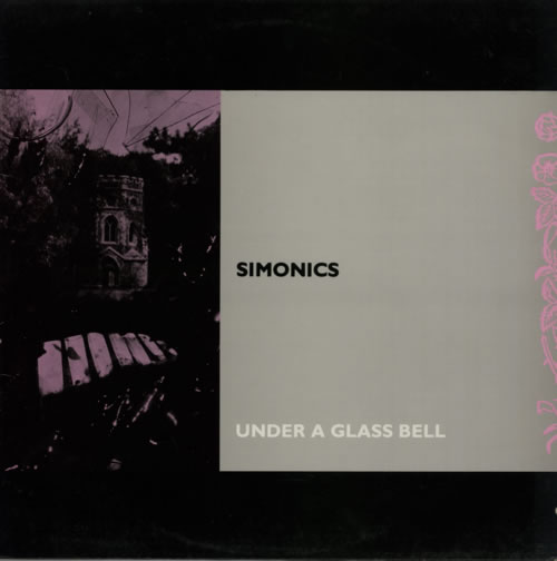 "Simonics Under A Glass Bell 12"" vinyl single (12 inch record / Maxi-single) UK V8112UN598197"