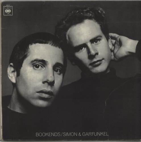 Simon & Garfunkel Bookends - 2nd vinyl LP album (LP record) UK SGFLPBO595343