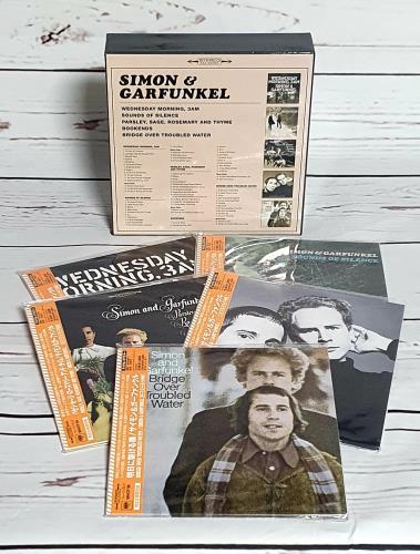 Simon & Garfunkel Bookends - Paper Sleeve Collection CD Album Box Set Japanese SGFDXBO752415
