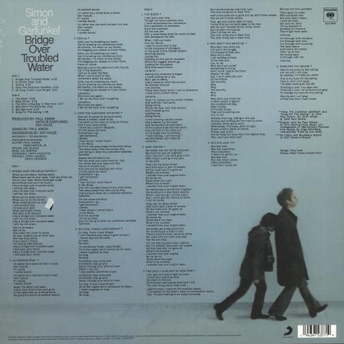 Simon & Garfunkel Bridge Over Troubled Water - 180gm Gold Vinyl - Sealed vinyl LP album (LP record) UK SGFLPBR739464
