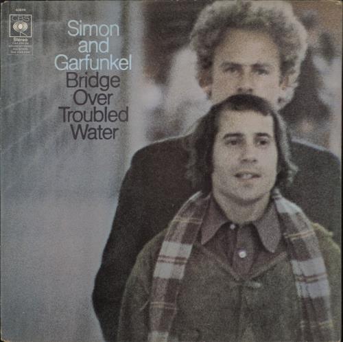 Simon & Garfunkel Bridge Over Troubled Water - Matt P/S vinyl LP album (LP record) UK SGFLPBR56552