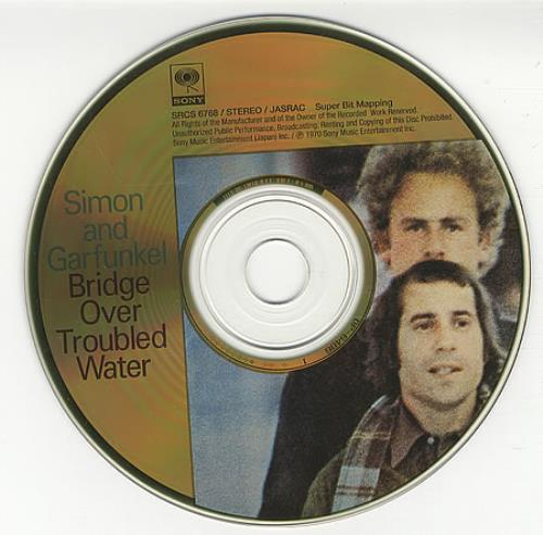Simon Amp Garfunkel Bridge Over Troubled Water Japanese Cd