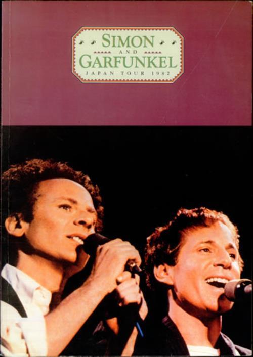 Simon & Garfunkel Japan Tour 1982 tour programme Japanese SGFTRJA515520