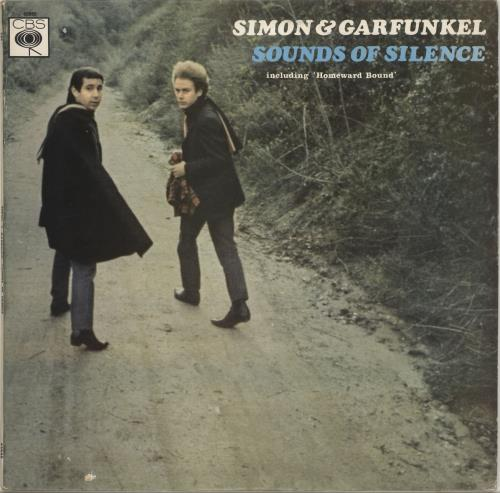 Simon & Garfunkel Sounds Of Silence - 3rd vinyl LP album (LP record) UK SGFLPSO573583