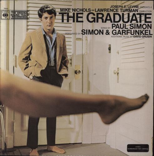 Simon & Garfunkel The Graduate - 1st - EX vinyl LP album (LP record) UK SGFLPTH683606