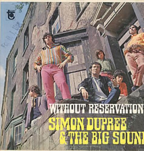 Simon Dupree & The Big Sound Without Reservations vinyl LP album (LP record) US EEULPWI211667