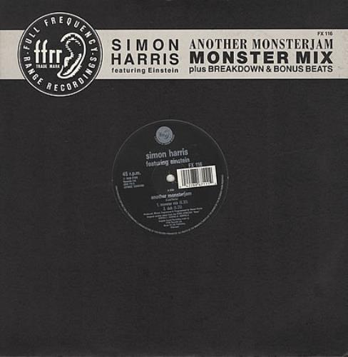 "Simon Harris Another Monsterjam 12"" vinyl single (12 inch record / Maxi-single) UK IMN12AN389832"