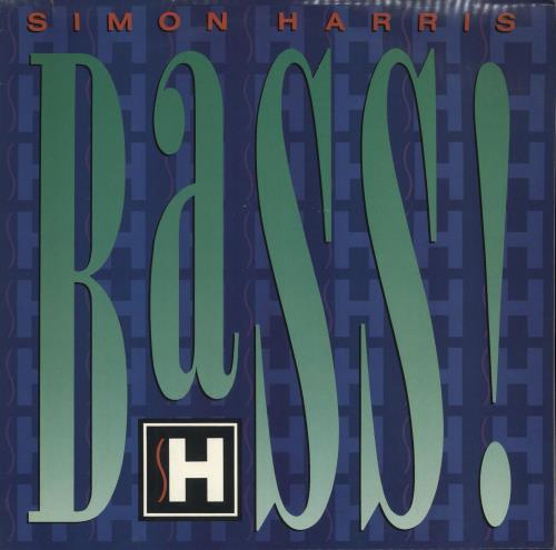 Simon Harris Bass vinyl LP album (LP record) UK IMNLPBA718891