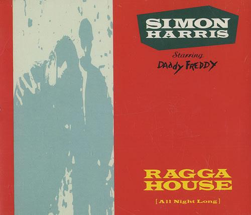 "Simon Harris Ragga House (All Night Long) CD single (CD5 / 5"") UK IMNC5RA487560"