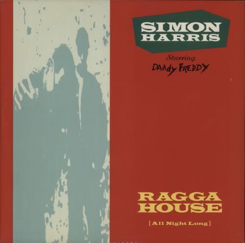 "Simon Harris Ragga House (All Night Long) 12"" vinyl single (12 inch record / Maxi-single) UK IMN12RA759575"