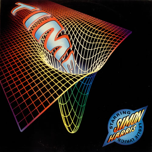 "Simon Harris Time 12"" vinyl single (12 inch record / Maxi-single) UK IMN12TI110726"