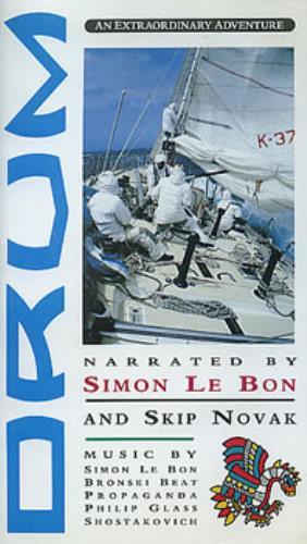 Simon Le Bon Drum - Original Issue video (VHS or PAL or NTSC) UK SLBVIDR147177