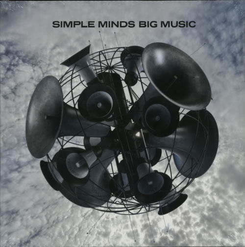 Simple Minds Big Music - 180gm 2-LP vinyl record set (Double Album) UK SIM2LBI614727