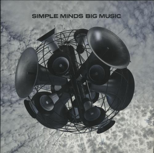 Simple Minds Big Music - Numbered CD album (CDLP) UK SIMCDBI644960