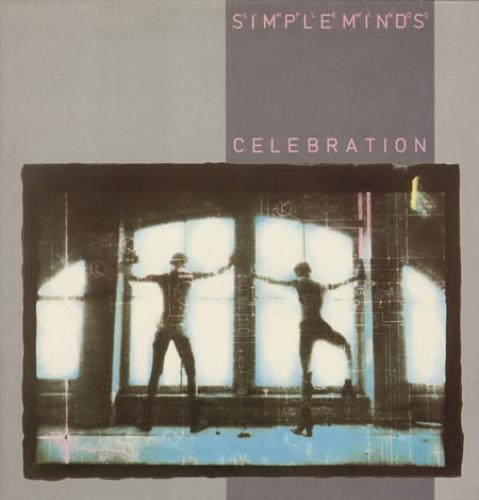 Simple Minds Celebration vinyl LP album (LP record) UK SIMLPCE239302