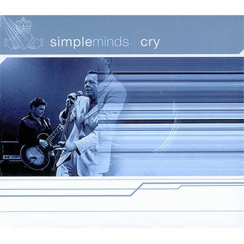 Simple Minds Cry 2-CD single set (Double CD single) UK SIM2SCR205427