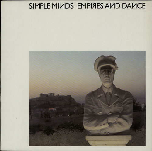 Simple Minds Empires And Dance vinyl LP album (LP record) UK SIMLPEM625931