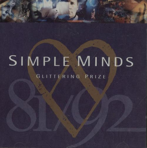 Simple Minds Glittering Prize CD album (CDLP) UK SIMCDGL614367