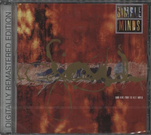Simple Minds Good News From The Next World CD album (CDLP) UK SIMCDGO228762
