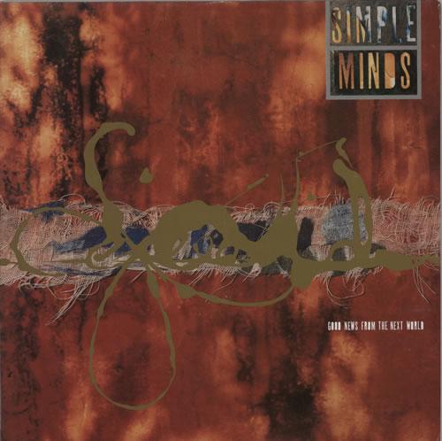 Simple Minds Good News From The Next World vinyl LP album (LP record) UK SIMLPGO48752