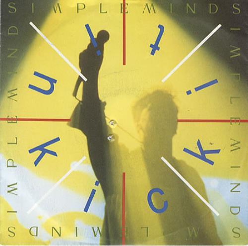"Simple Minds Kick It In 7"" vinyl single (7 inch record) German SIM07KI326536"