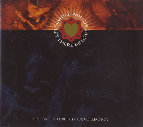 """Simple Minds Let There Be Love CD single (CD5 / 5"""") UK SIMC5LE55382"""