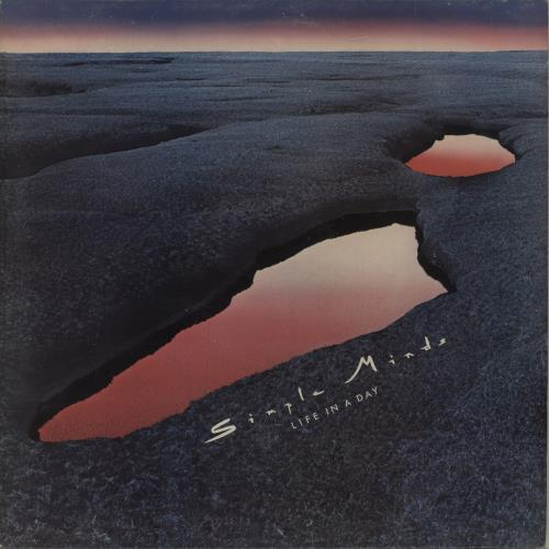Simple Minds Life In A Day - EX UK vinyl LP album (LP record)