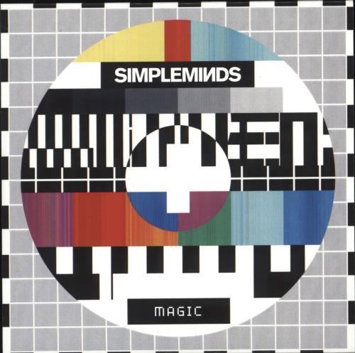 Simple Minds Magic CD-R acetate UK SIMCRMA709532