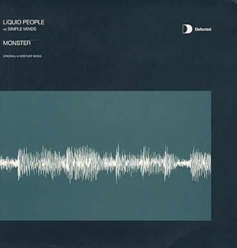 "Simple Minds Monster - Original & Kidstuff Mixes 12"" vinyl single (12 inch record / Maxi-single) UK SIM12MO219079"