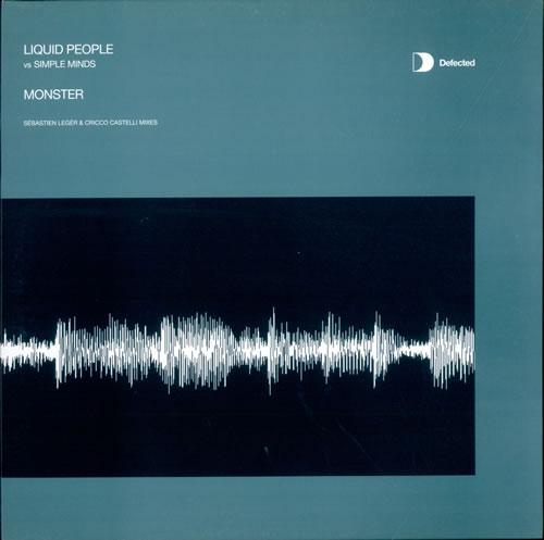 "Simple Minds Monster - Sebastien Leger & Cricco Castelli Mixes 12"" vinyl single (12 inch record / Maxi-single) UK SIM12MO219080"
