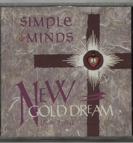 Simple Minds New Gold Dream CD album (CDLP) German SIMCDNE648238