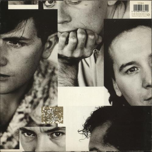 Simple Minds Once Upon A Time - Reversed artwork vinyl LP album (LP record) UK SIMLPON726240