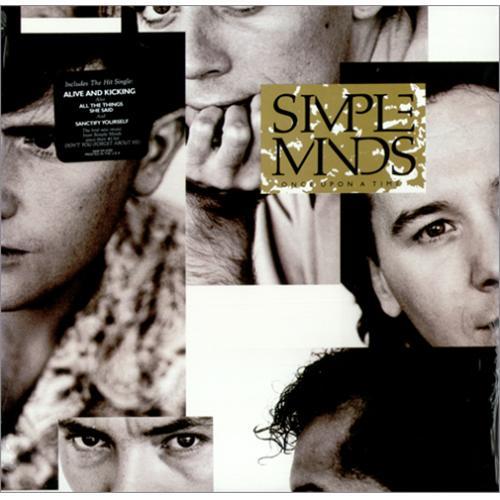 Simple Minds Once Upon A Time - Sealed vinyl LP album (LP record) US SIMLPON420348