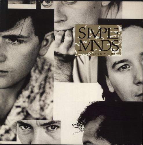 Simple Minds Once Upon A Time vinyl LP album (LP record) UK SIMLPON109986
