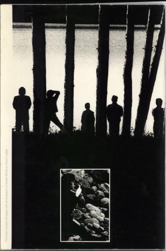 Simple Minds Once Upon A Time tour programme UK SIMTRON769509