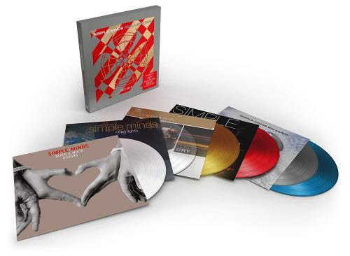 Simple Minds Rejuvenation 2001-2014 - Coloured Vinyl Vinyl Box Set UK SIMVXRE771712