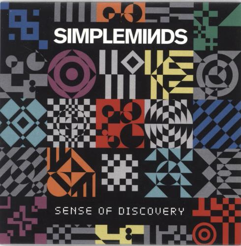 Simple Minds Sense Of Discovery CD-R acetate UK SIMCRSE709528