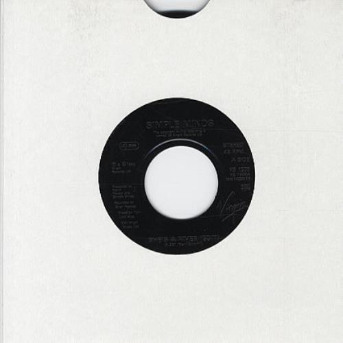 "Simple Minds She's A River - Jukebox 7"" vinyl single (7 inch record) UK SIM07SH326538"