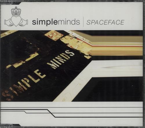 "Simple Minds Spaceface CD single (CD5 / 5"") German SIMC5SP216434"