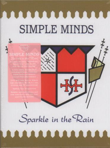 Simple Minds Sparkle In The Rain - Sealed Deluxe Box CD Album Box Set UK SIMDXSP653654