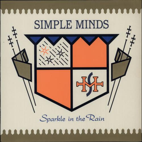 Simple Minds Sparkle In The Rain vinyl LP album (LP record) UK SIMLPSP92803