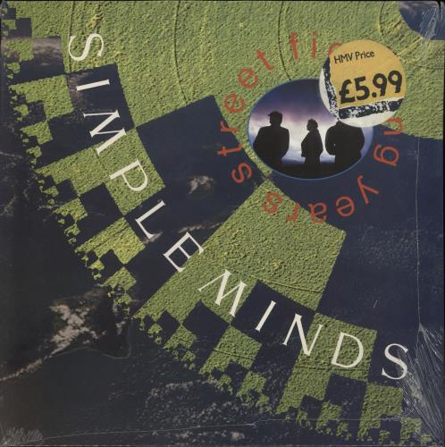 Simple Minds Street Fighting Years - Sealed vinyl LP album (LP record) UK SIMLPST708147