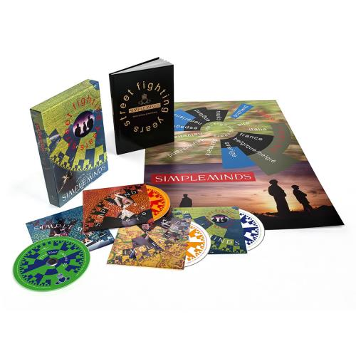 Simple Minds Street Fighting Years: Super Deluxe Edition - Sealed 4-CD album set UK SIM4CST740835