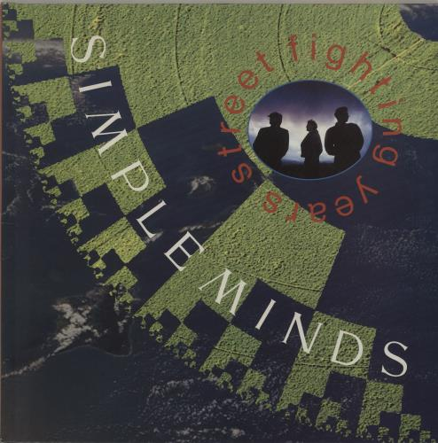 Simple Minds Street Fighting Years vinyl LP album (LP record) UK SIMLPST273727