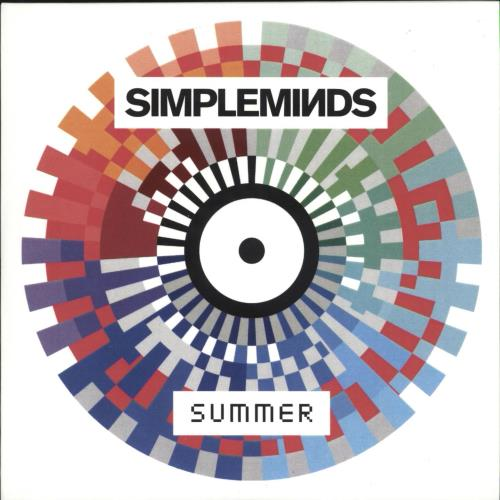 Simple Minds Summer CD-R acetate UK SIMCRSU709529