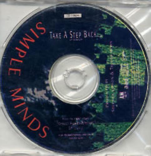 "Simple Minds Take A Step Back CD single (CD5 / 5"") US SIMC5TA26931"