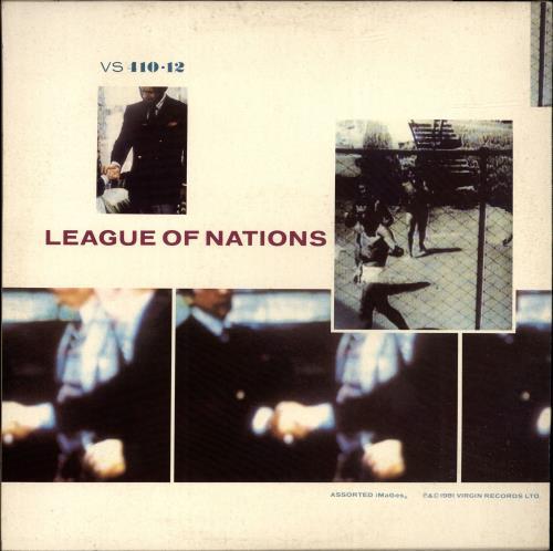"Simple Minds The American - Stickered sleeve 12"" vinyl single (12 inch record / Maxi-single) UK SIM12TH694628"
